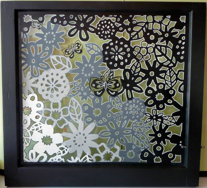 \ Three Hippies and a Van\  Price USD Size (inches) & Panes of Art Barn Quilts Hand Painted Windows Window Art ...