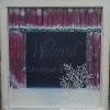 """Barn-door Chalkboard"" Price, USD: $155 Status: AVAILABLE Approx.Size (inches):28""w x 29""h   Media: Paint on glass NOTE:"